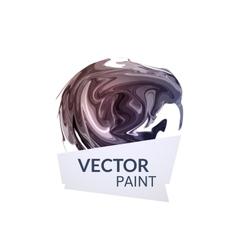 Abstract digital watercolor ink virtual technology vector