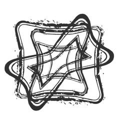 Borders stamp vector