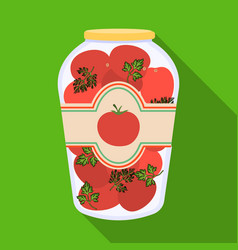 Can and food symbol vector