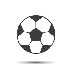 coccer ball vector image