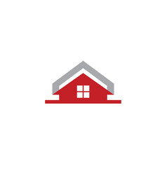 house real estate business logo vector image