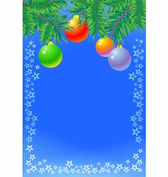 new year holidays background vector image