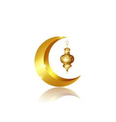 Ramadan mubarak background kareem isolate vector