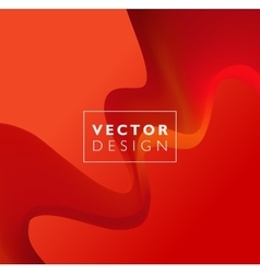 Red Template Abstract background with vector image