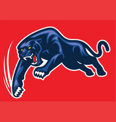 panther attack vector image vector image