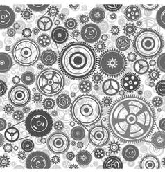 Seamless gearwheel mechanism vector
