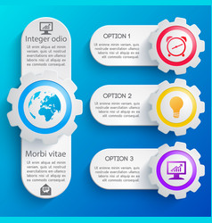 abstract business web design banners set vector image vector image