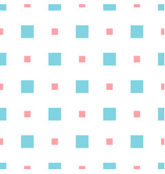 abstract geometric pattern with small squares vector image