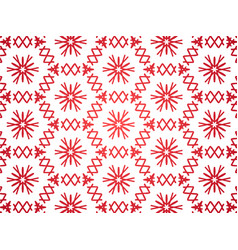 abstract repeat backdrop with lace floral ornament vector image