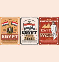 Ancient egypt tours abu simbel temple vector