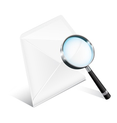 Business Mail Icon vector