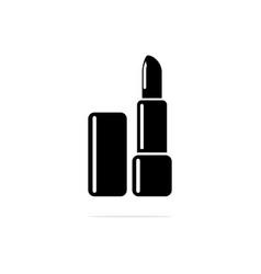 lipstick icon concept for design vector image