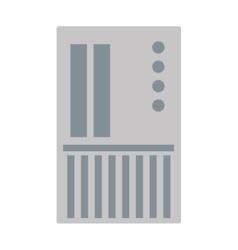 sd card icon vector image