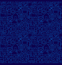 Web ui ux seamless line pattern vector