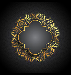 luxury pattern background vector image vector image