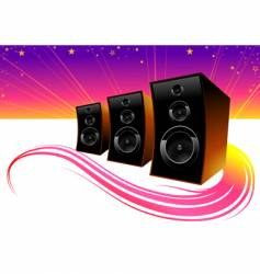 color of music vector image vector image