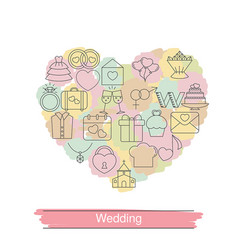 wedding background wedding background vector image vector image