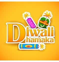 Diwali Offer for promotion and advertisment vector image