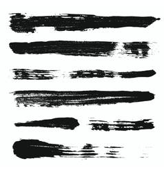 Grunge brushes set 3 vector