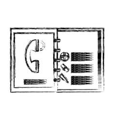 Medical address book vector