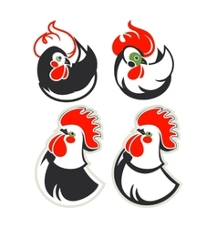 set cocks vector image
