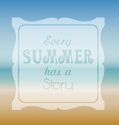 Summer Quote Background Vector ...