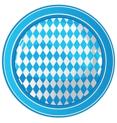 Oktoberfest circle background vector image vector image