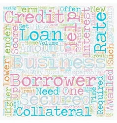 Business Loan An Effective Tool for Growth text vector