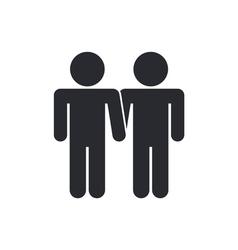 Gay icon vector