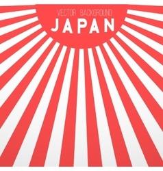 japan flag background retro style vector image