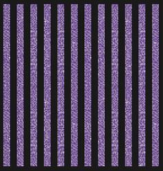 Parallel vertical lines banner of purple sequins vector