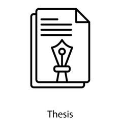 Thesis Vector Images (over 320)
