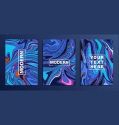 Set coloured modern backgroundstexture vector