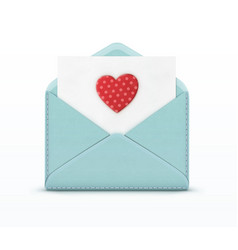 love letter concept vector image vector image