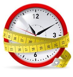 watch metr diet 01 vector image vector image