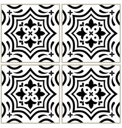 Azulejo - portuguese tile design seamless vector