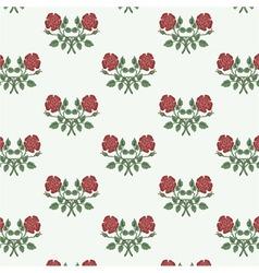 Floral textile design vector