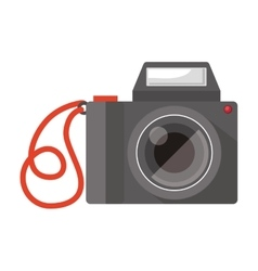 Full color with camera photo vector