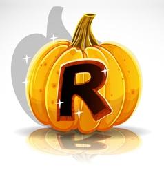 Halloween Pumpkin R vector