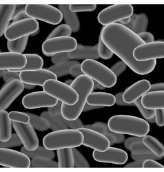 Listeria Sticks on Dark Background vector image
