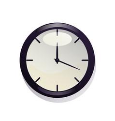 nice clock vector image