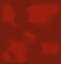 red hexagon abstract background hexagon pattern v vector image