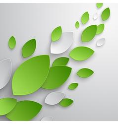 Paper leaves vector