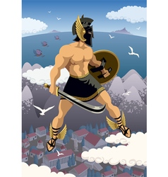 Perseus vector image vector image