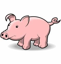 little piggy vector image vector image