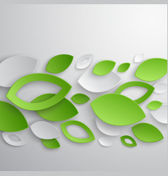 paper leaves2 vector image