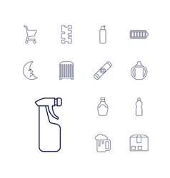 13 full icons vector
