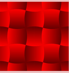 3d curve tile seamless pattern red 001 vector image