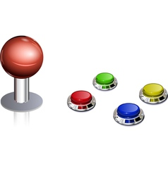 Arcade game control vector
