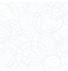 black dotted spirals vector image